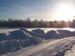 Cercle polaire Laponie suédoise