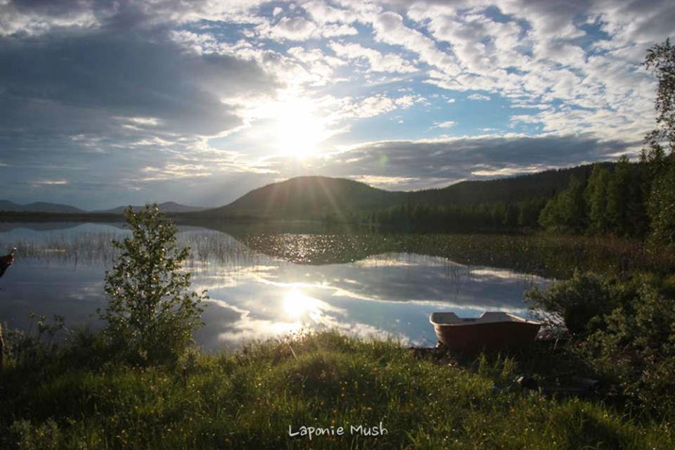 lac barque été soleil