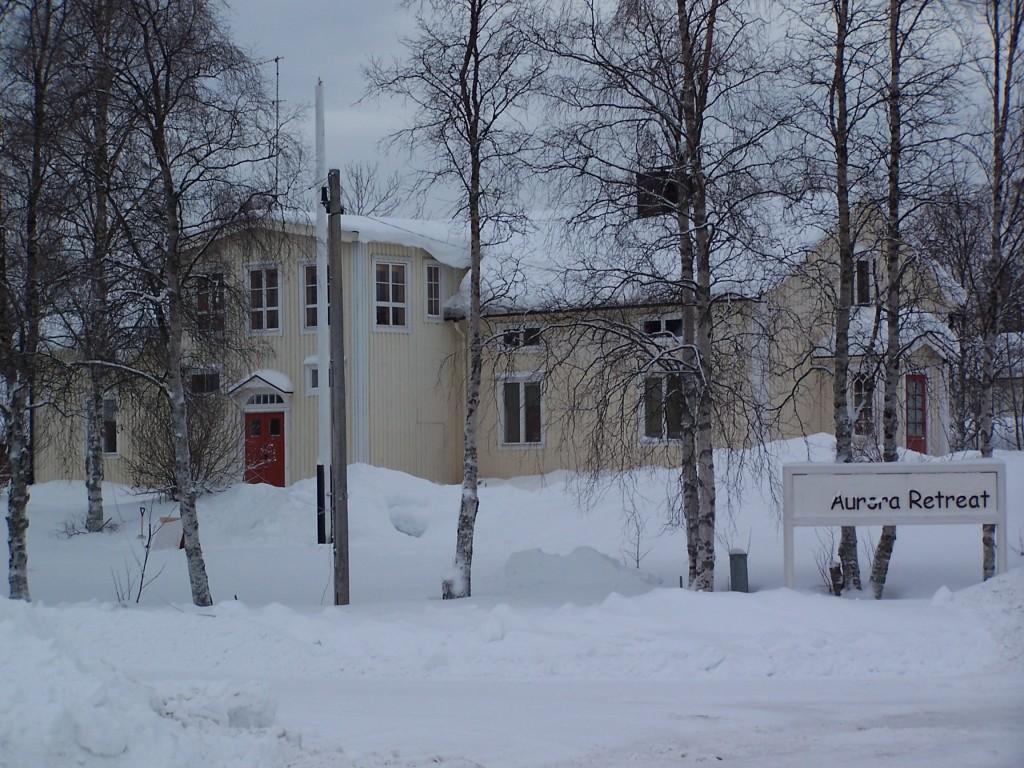Aurora retreat Laponie