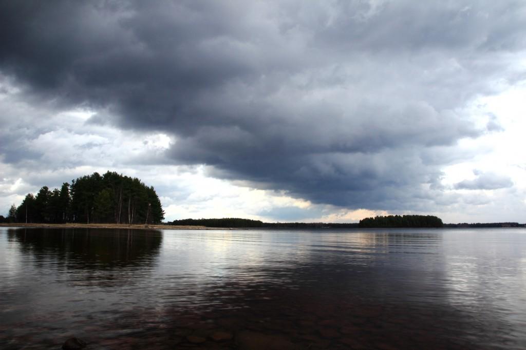 Gesunda, Dalécarlie, bord du lac Siljan