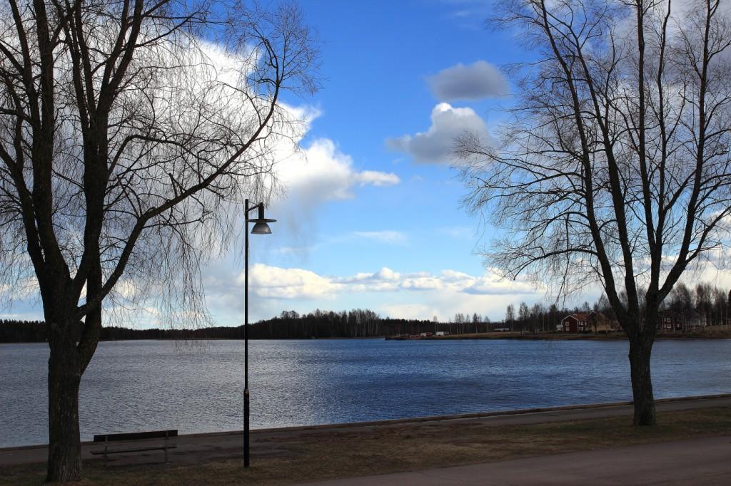 Lac Siljan à Mora