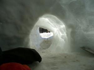Interieur de l'igloo