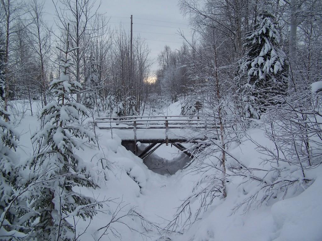 Pont en Laponie
