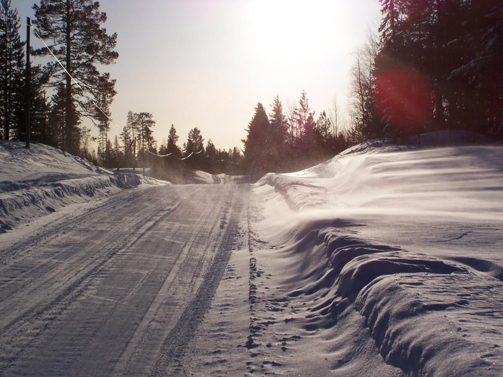 Vent en Laponie