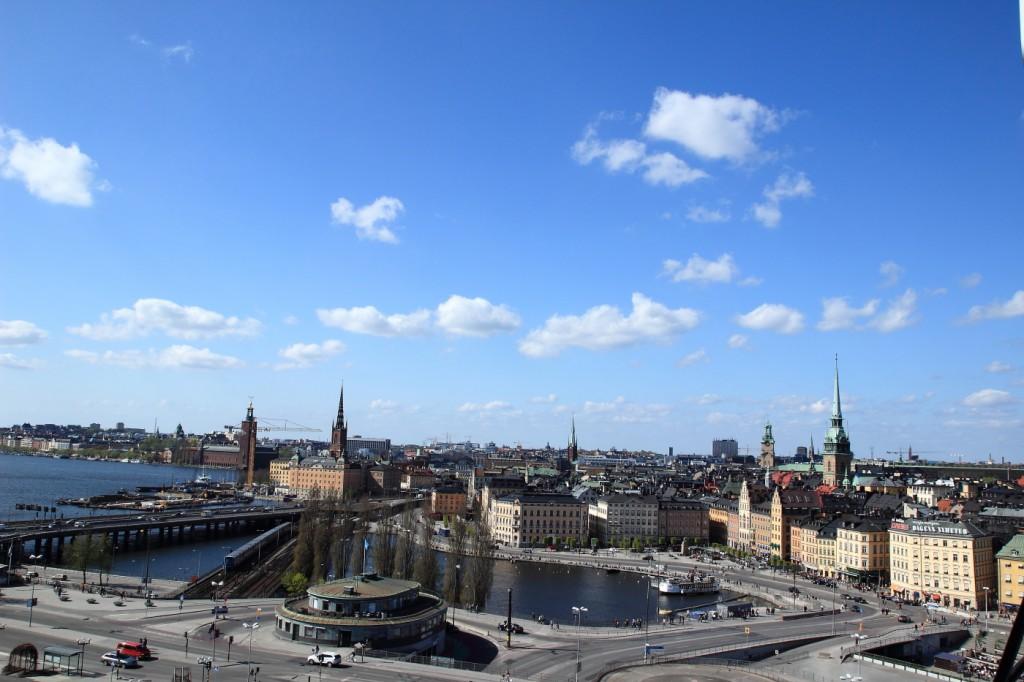 Panorama depuis Katarinahissen