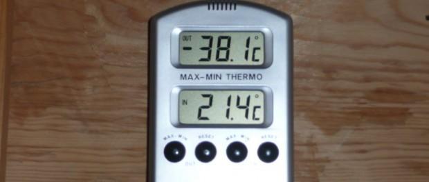 Temperature Laponie