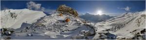 Camp de base du Mera Peak (6476m), Népal