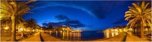 Heure bleue à Collioure