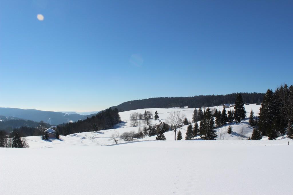 Autour de Bellefontaine Jura