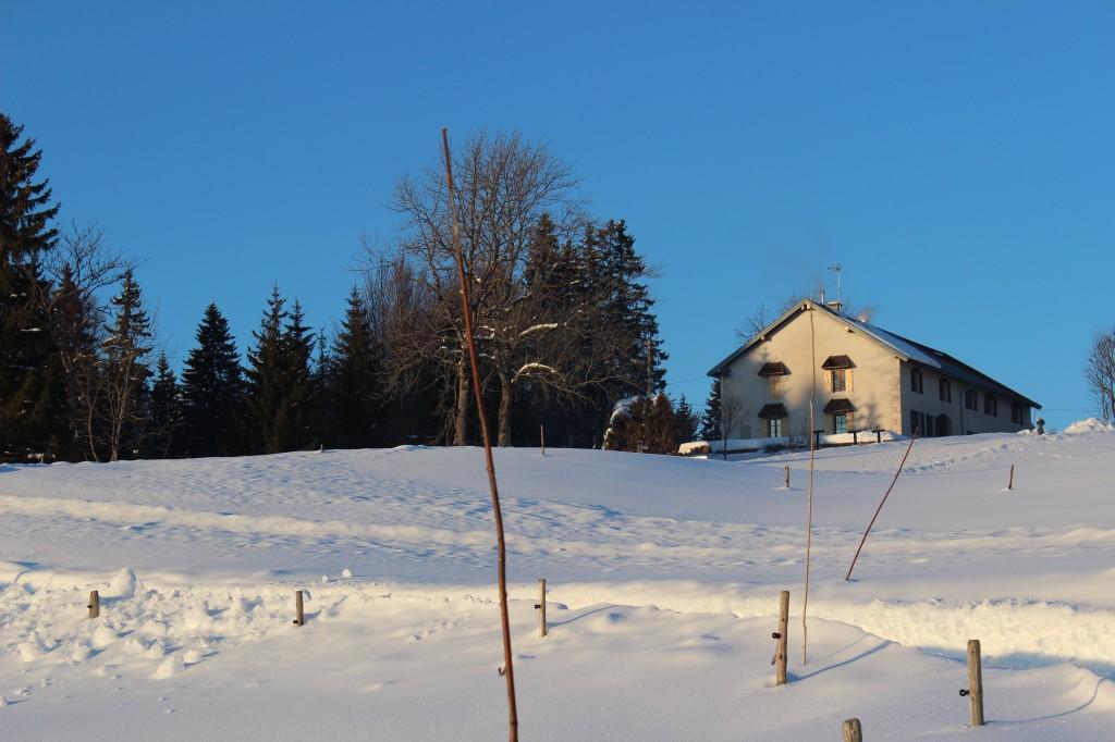Gite a Bellefontaine Jura