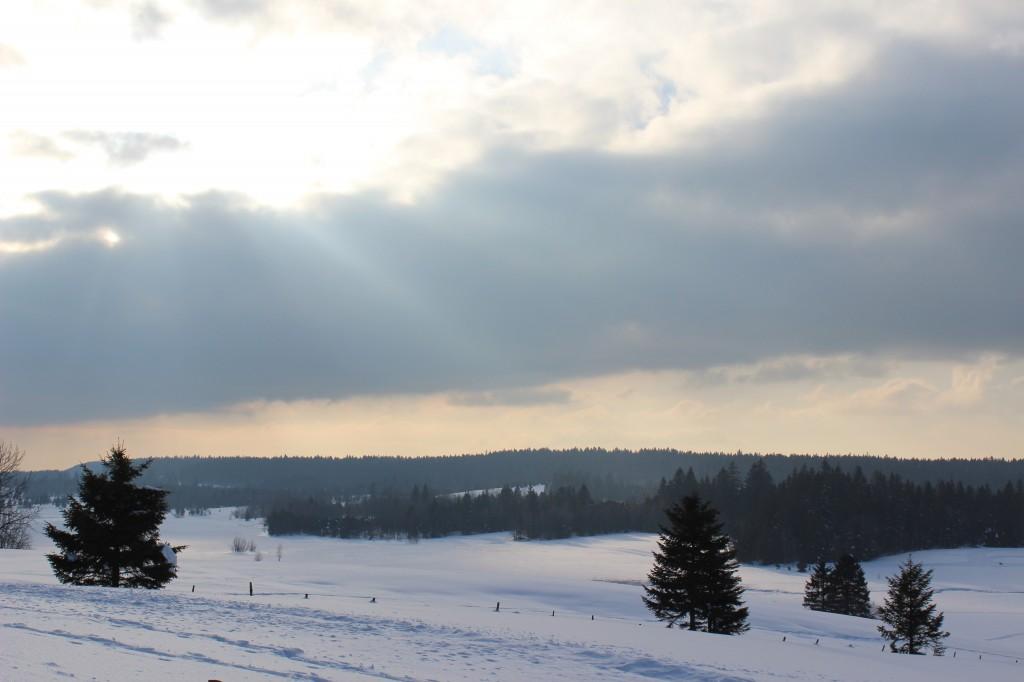 Tentative du soleil a Bellefontaine