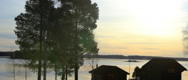 Paisible Dalécarlie, sur les bords du lac Siljan