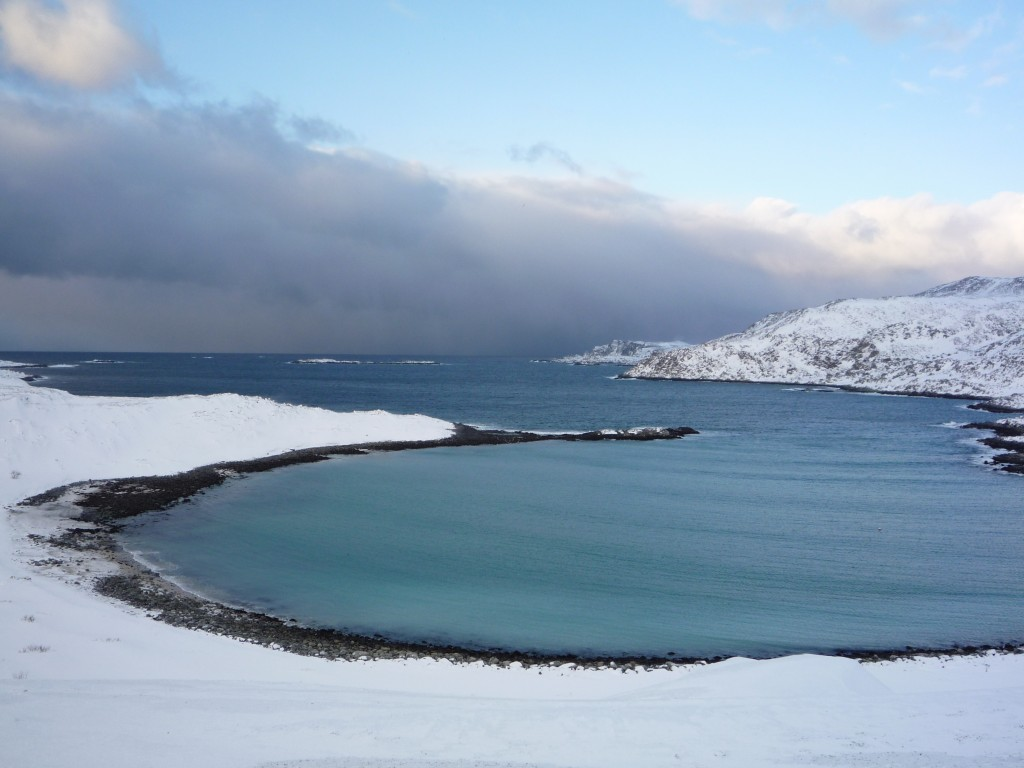 Mehamn Fjord Finnmark