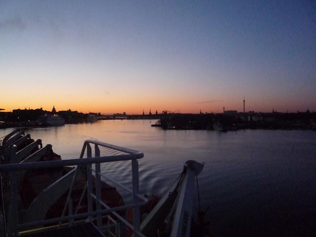 En ferry vers Helsinki