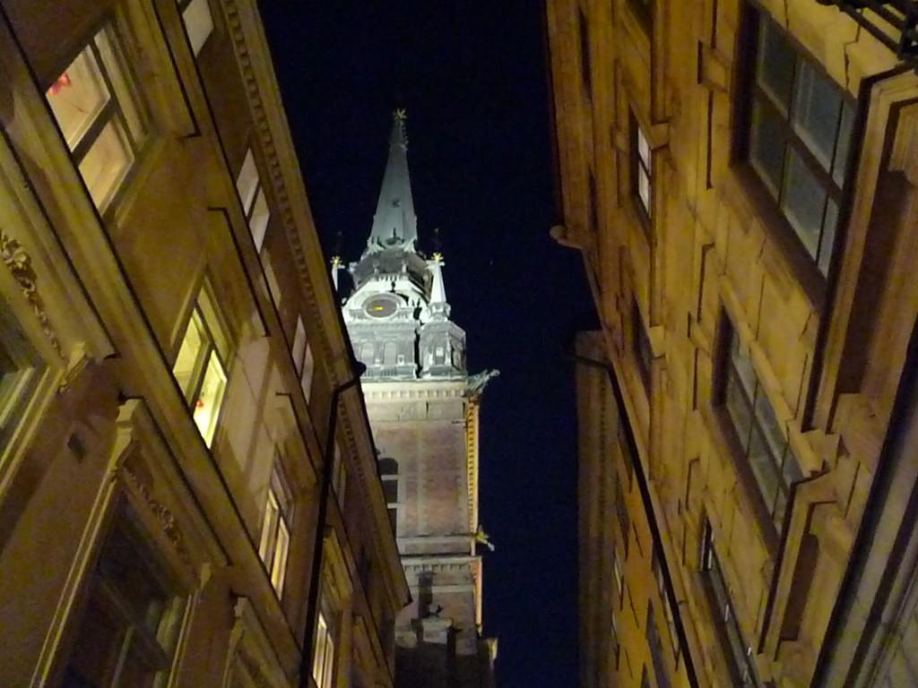 Gamla Stan Stockholm de nuit
