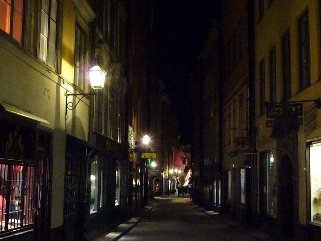 Gamla Stan de nuit