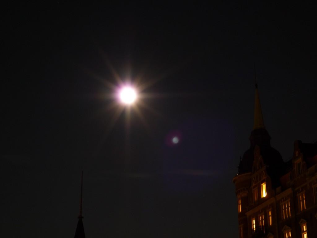 La lune a Stockholm