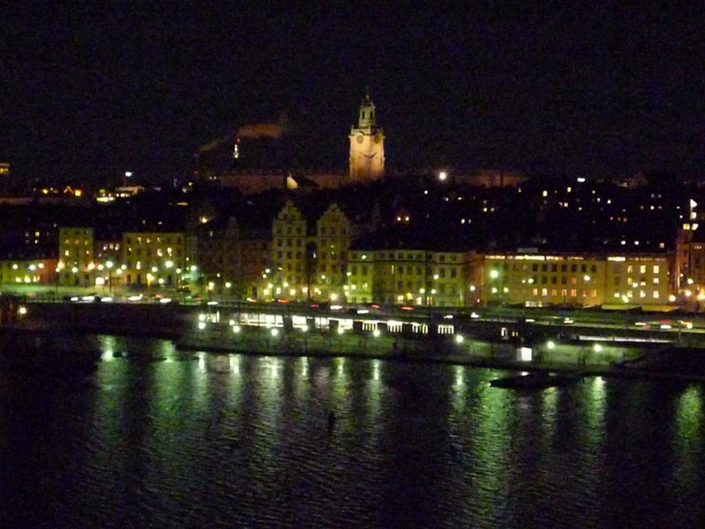 Lumieres sur Stockholm
