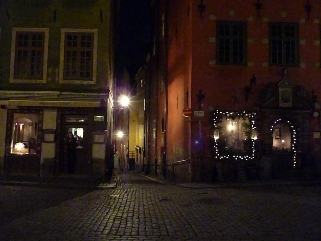 Nuit Gamla stan stockholm