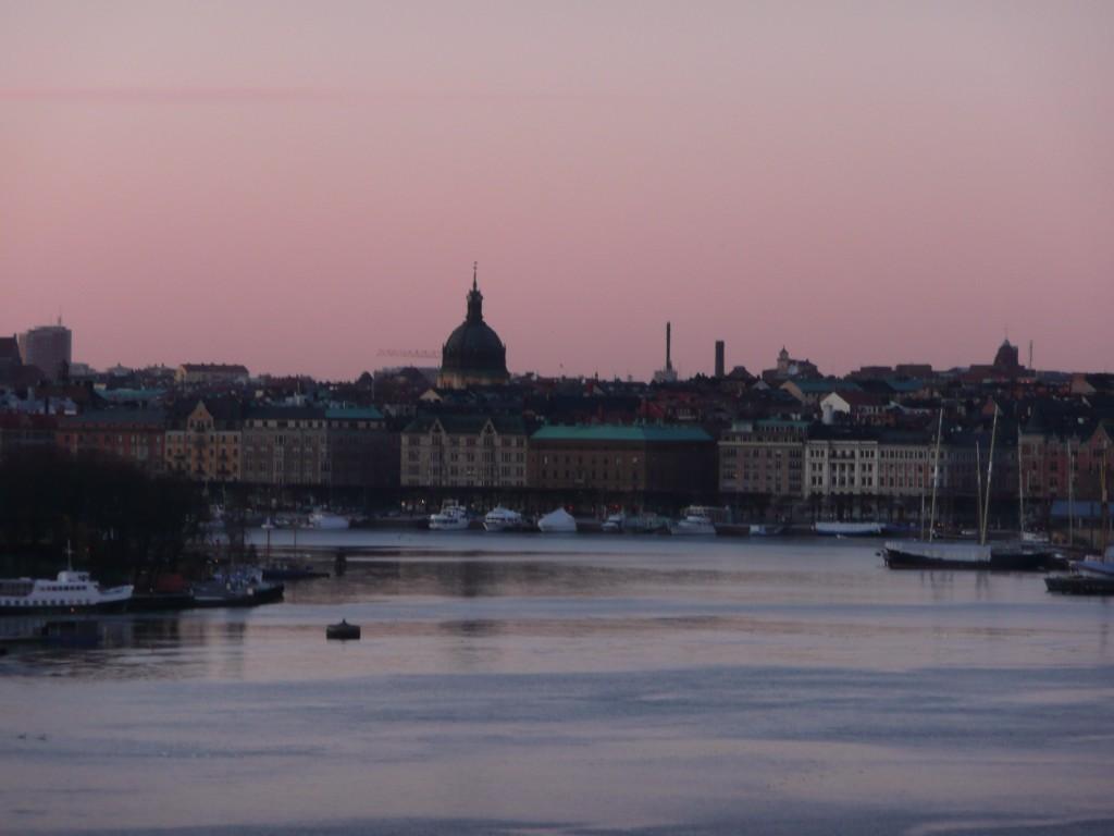 Stockholm crepuscule