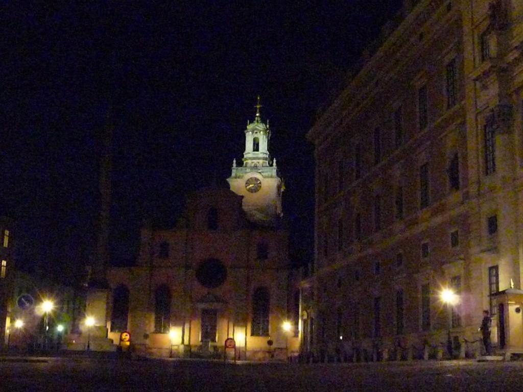 Stockholm de nuit