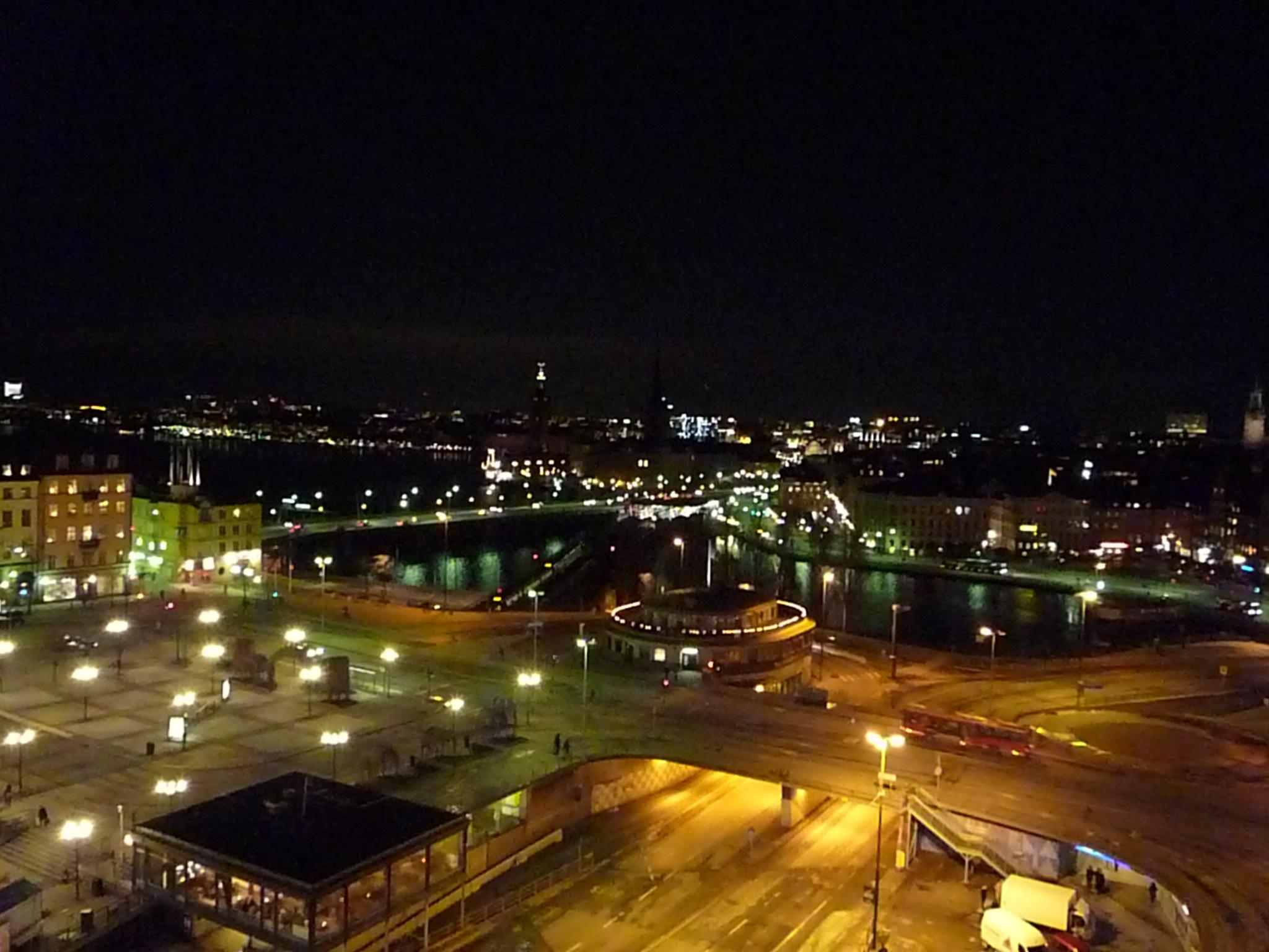 Stockholm de nuit  Carnets Nordiques -> Amérique Ville Nuit