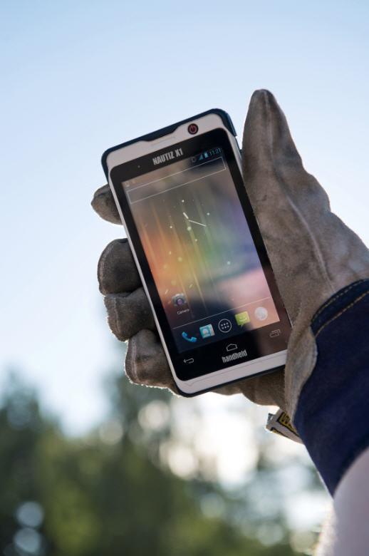 handheld le smartphone ultra robuste nautiz x1 carnets nordiques. Black Bedroom Furniture Sets. Home Design Ideas