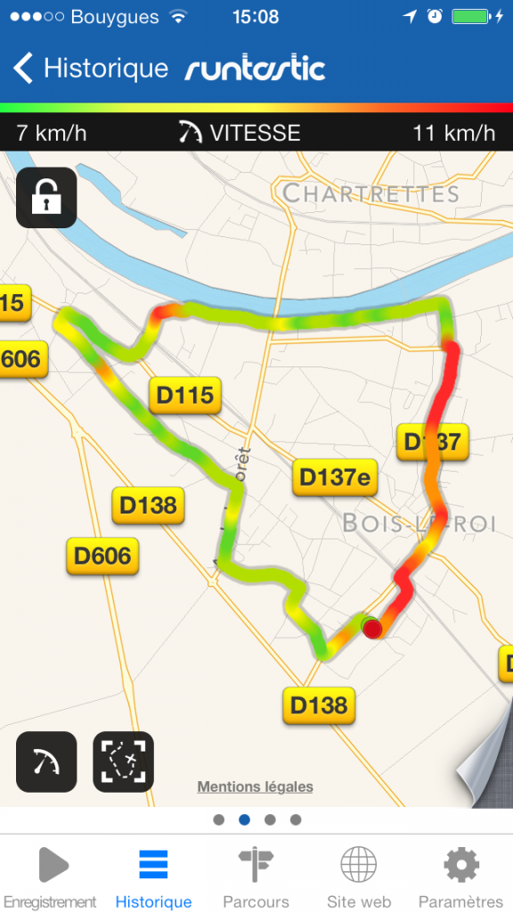 Runtastic home
