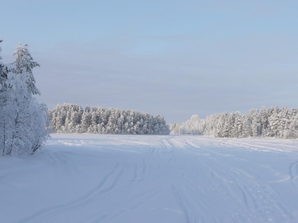 autoroute sur neige