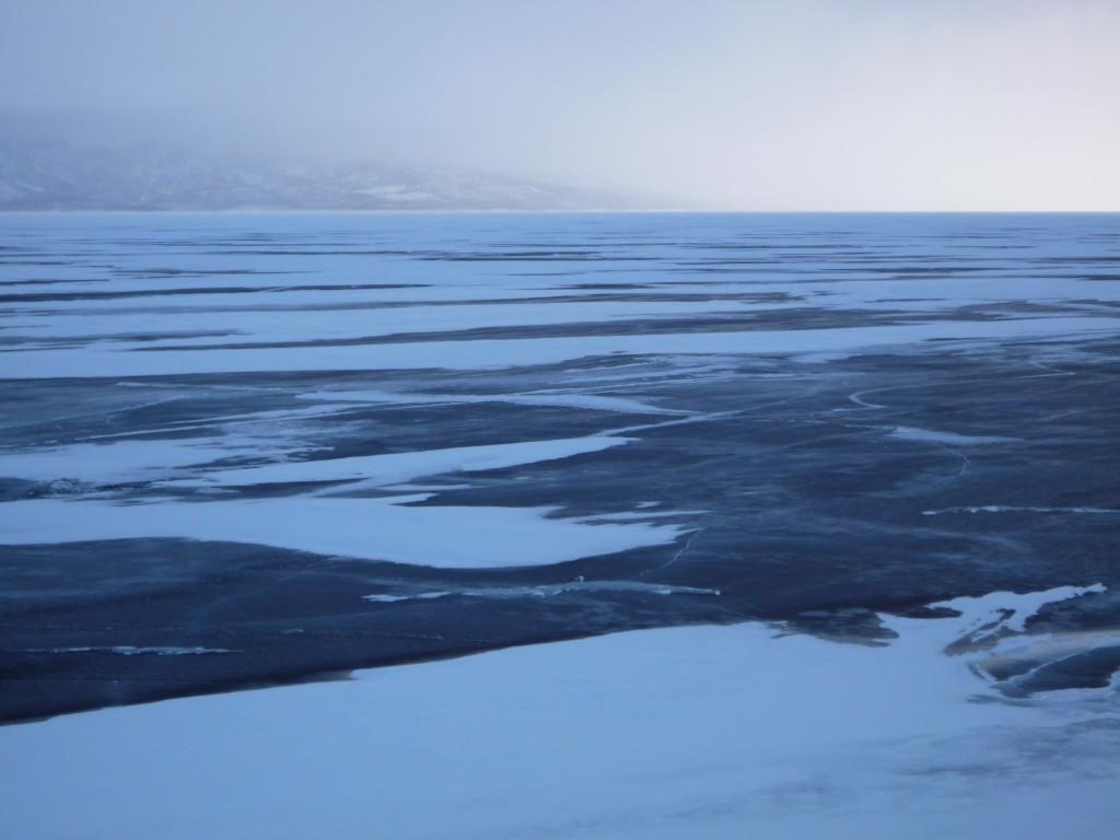 traces sur glace