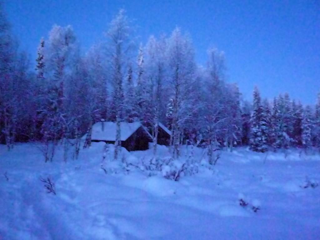 Cabane en Laponie