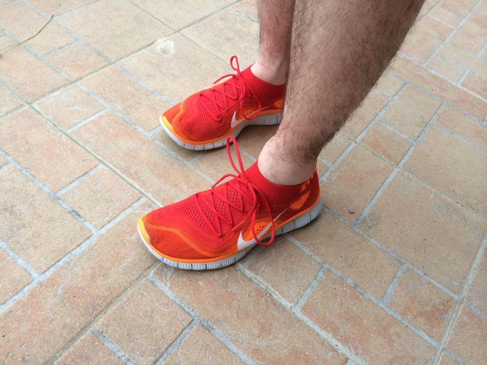 Chaussures minimalistes nike free flyknit