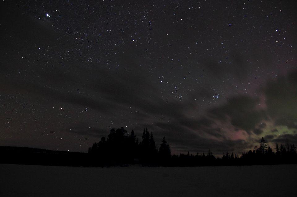 Laponie photos nuit etoiles