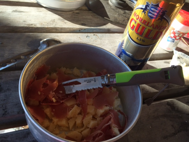 Opinel outdoor cuisine