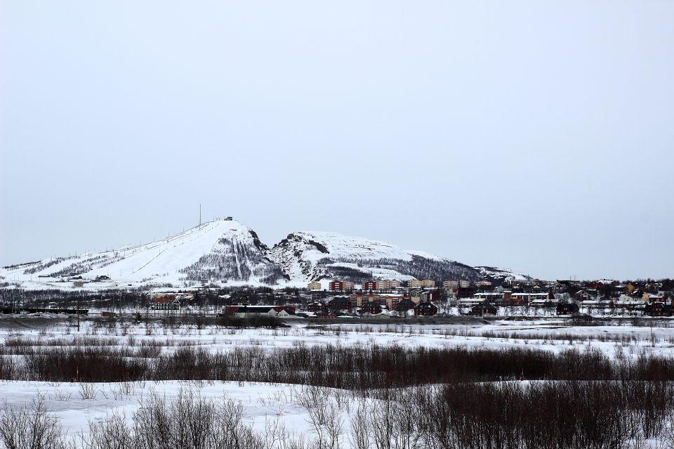 kiruna montagnes detruite mine