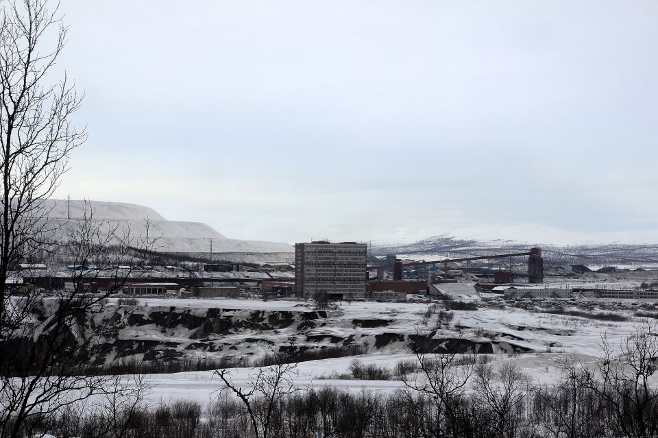 kiruna pollution laponie