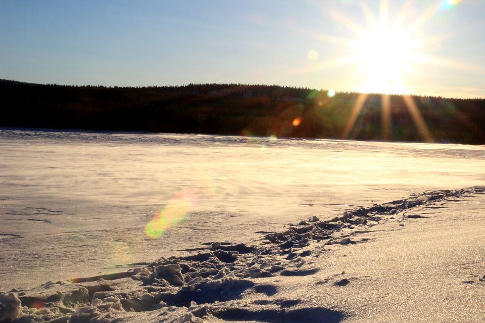 Laponie_coucher de soleil_1
