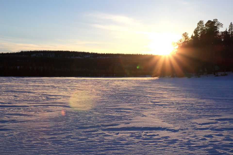 Laponie_coucher de soleil