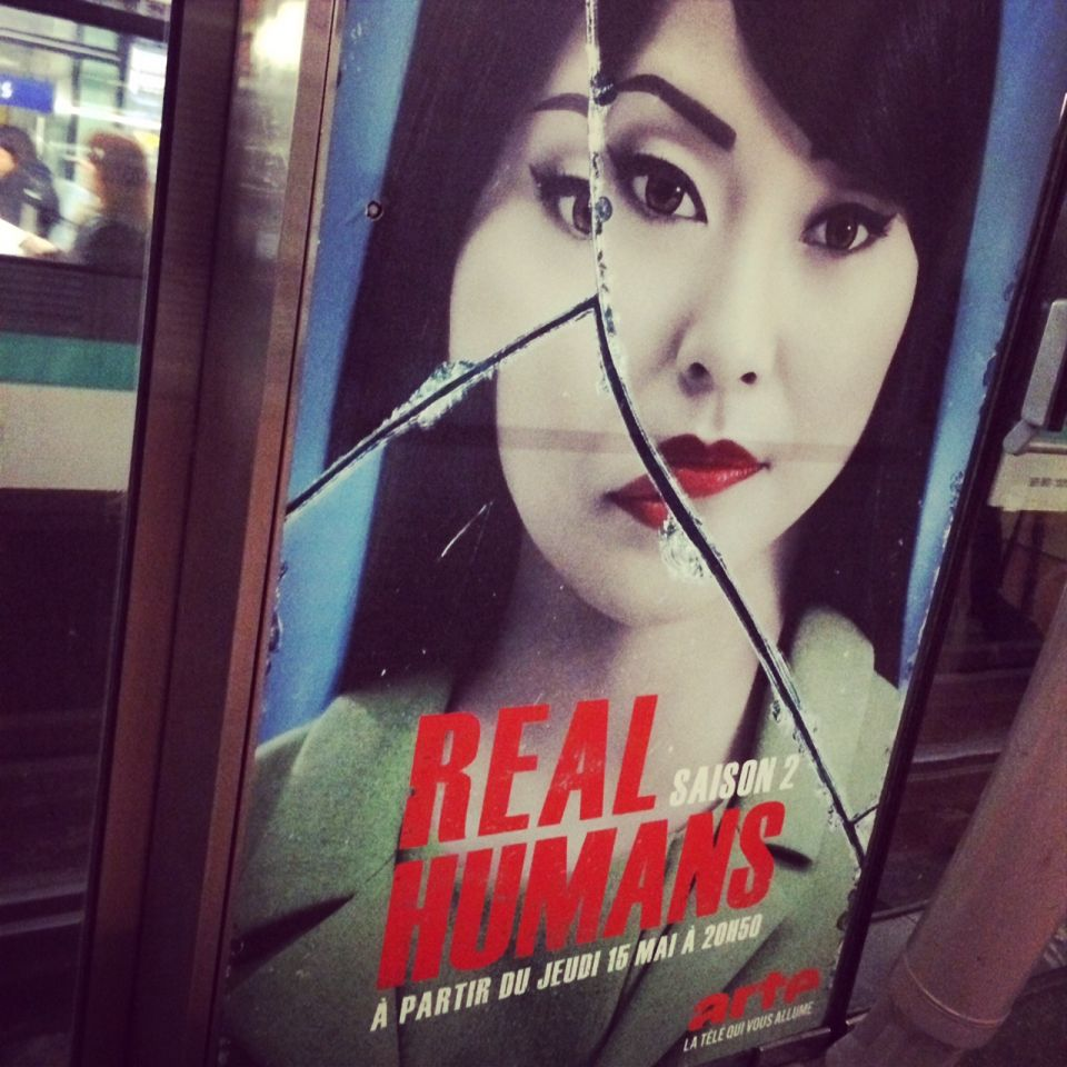 Real Humans affiches