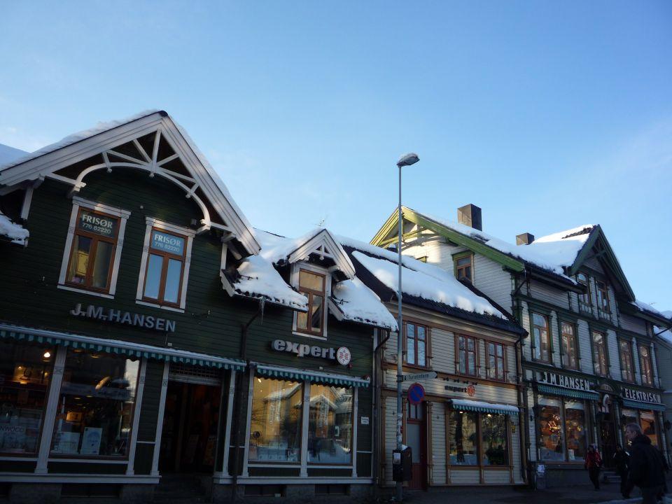 Tromsø centre-ville en norvege
