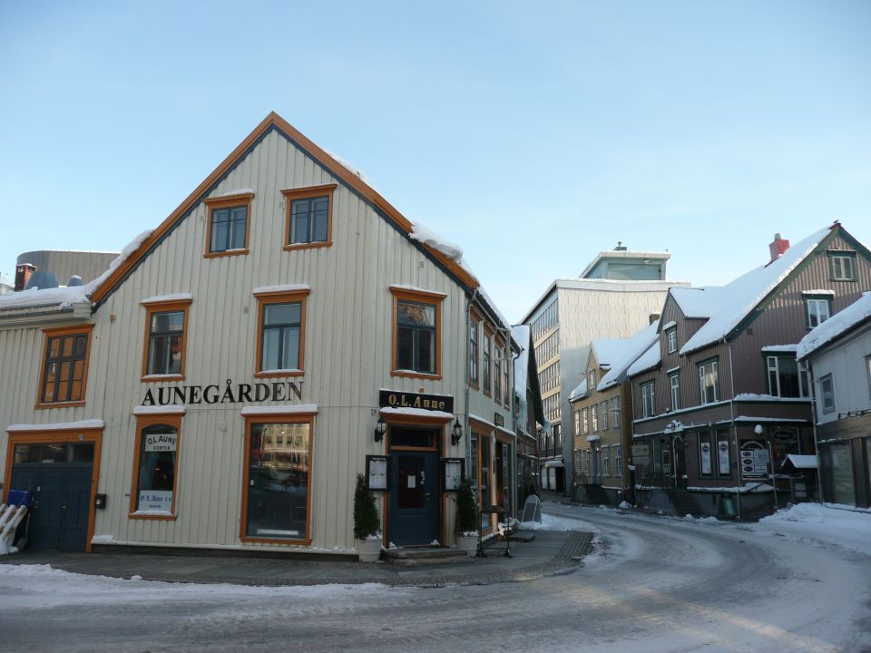 Tromsø centre ville