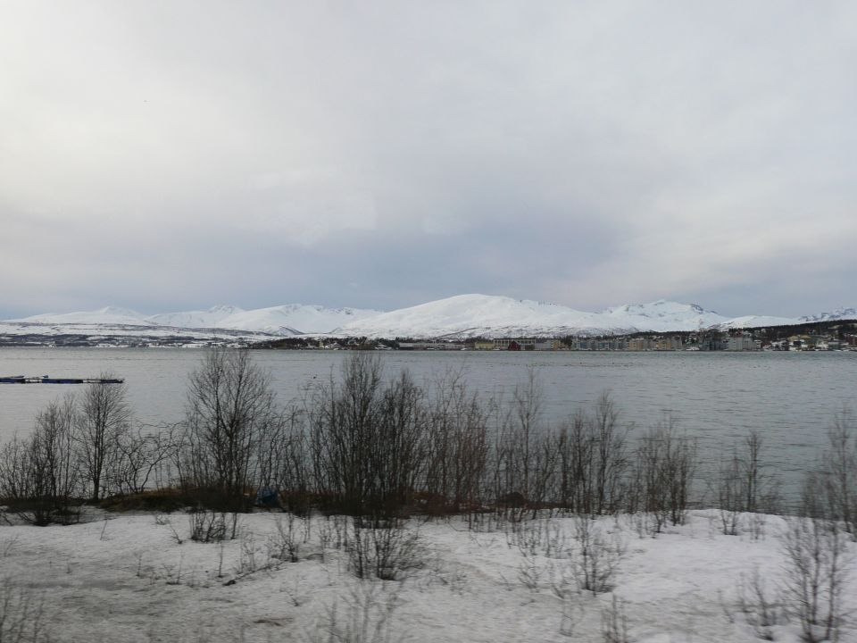 Alentours de Tromsø en norvege