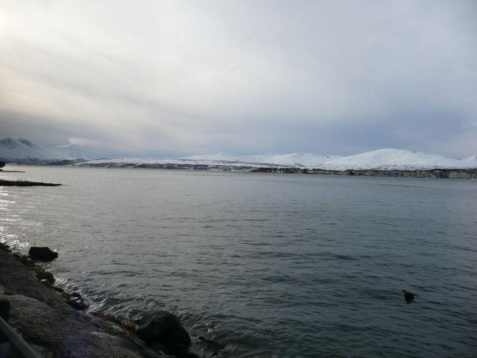Autour de Tromsø en norvege