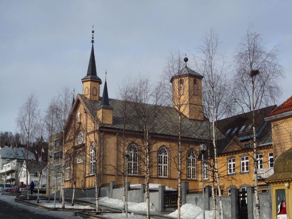 centre ville de Tromsø en norvege