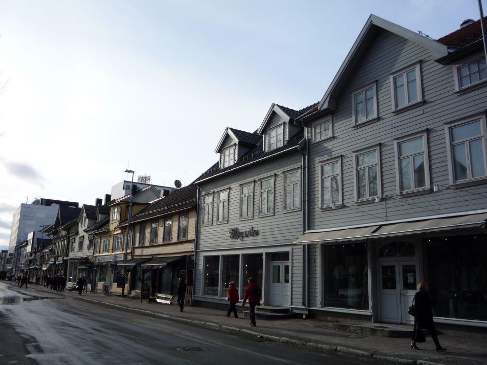 centre-ville de Tromsø en norvege