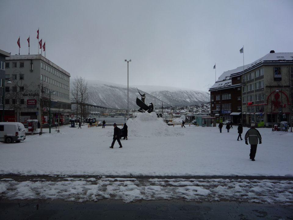 centre ville deTromsø en norvège