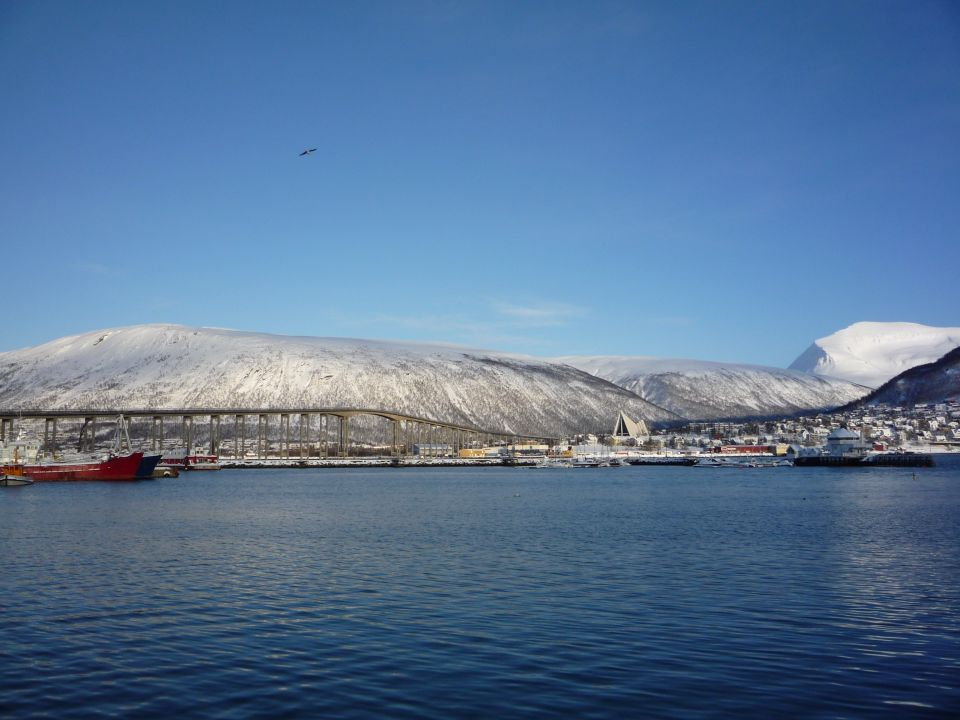 Fjord de Tromsø