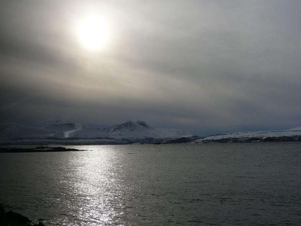 Nature a Tromsø en norvege