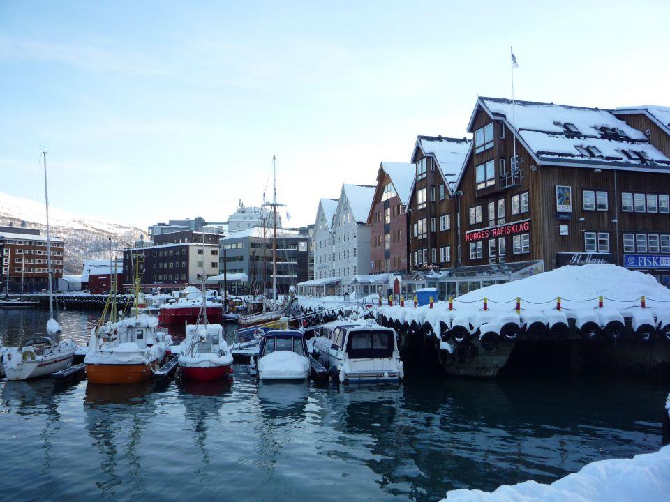 Port de Tromsø en norvege