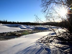 ski de rando Laponie